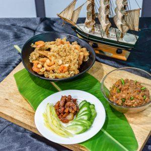 ผลงานนักศึกษา วิชาอาหารไทย วิทยาลัยเทคโนโลยีครัววันดี